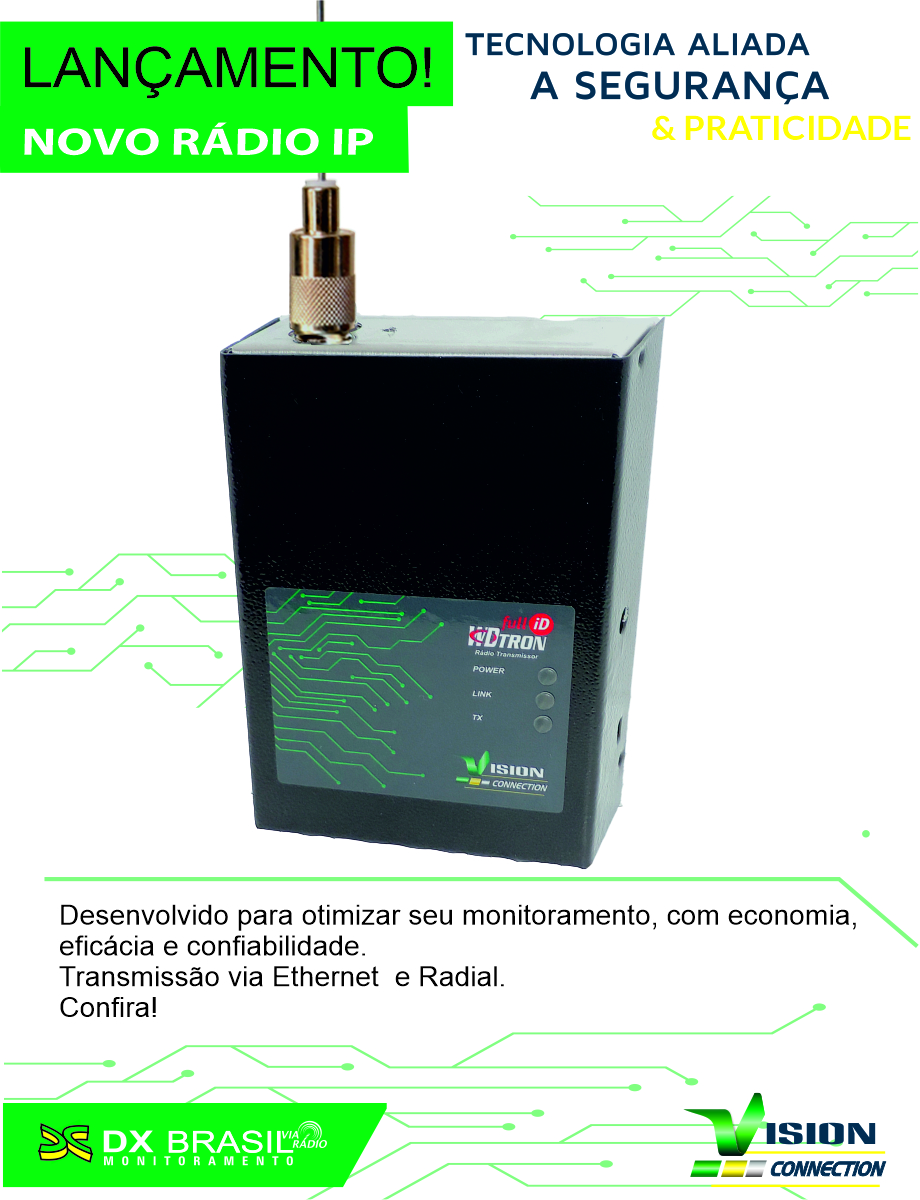 Popup DX Brasil - Flyer Radio IP clean